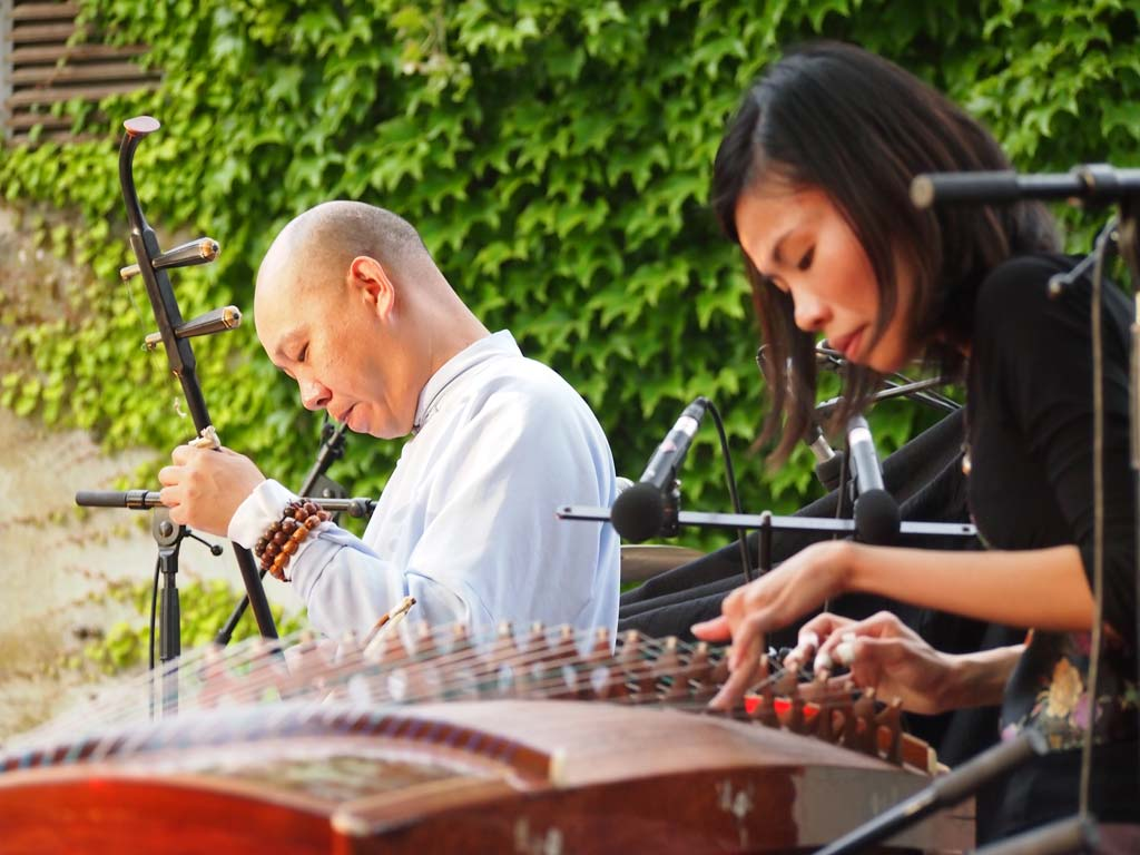 photo: Gau Gan and Fiona Sze-Lorrain music performance