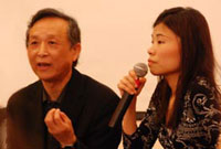 Photo: Gao Xing Jian and Fiona Sze-Lorrain